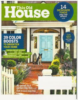 Century Studios This Old House Magazine cover